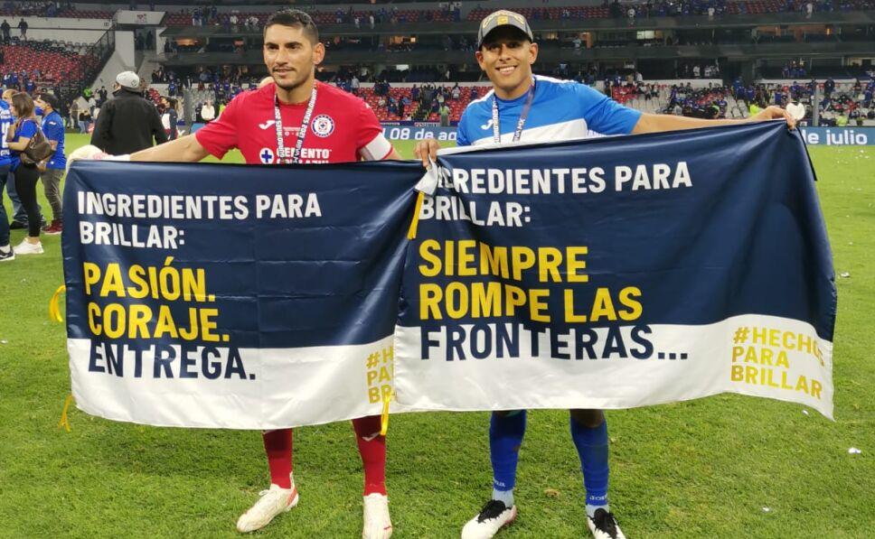 Celebración de Cruz Azul por el campeonato