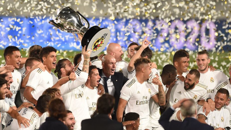 6.- Real Madrid, el máximo ganador en la historia de la Champions tiene un valor total de $4.24 billones de dólares.