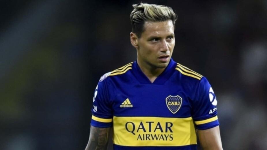 Mauro Zárate con Boca Juniors