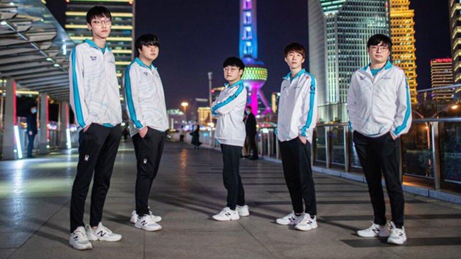 Damwon campeón del Worlds 2020