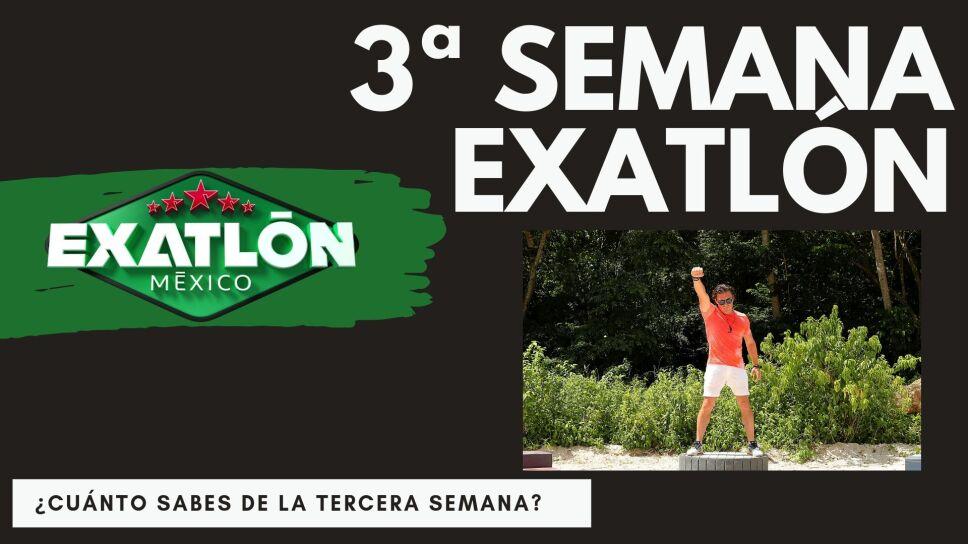 Quiz tercera semana Exatlón