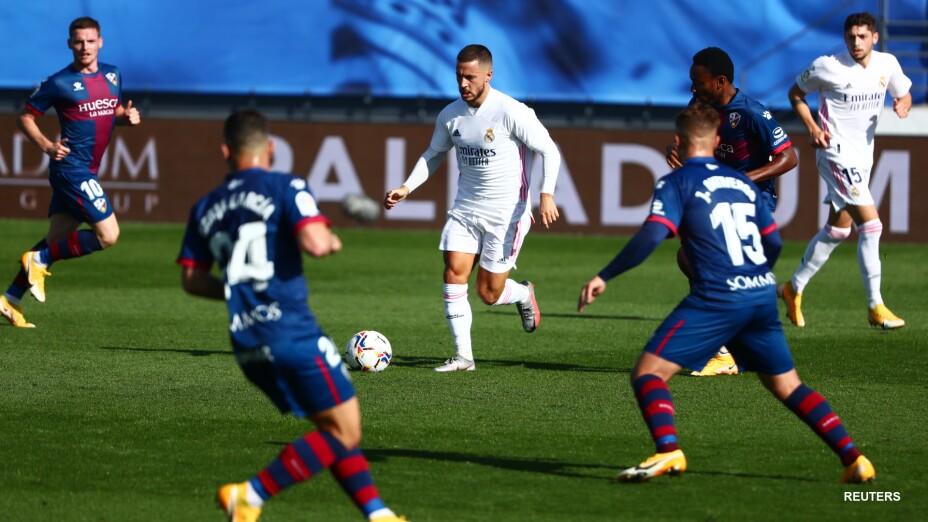 Eden Hazard anota con el Real Madrid