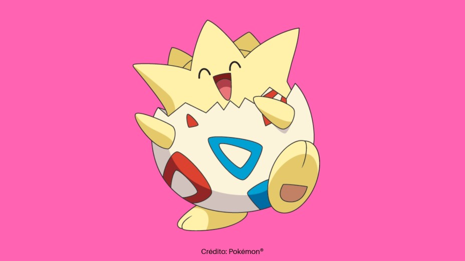 El primer Pokémon capturado por Misty fue un Horsea, aunque, Togepi es su inseparable amigo.