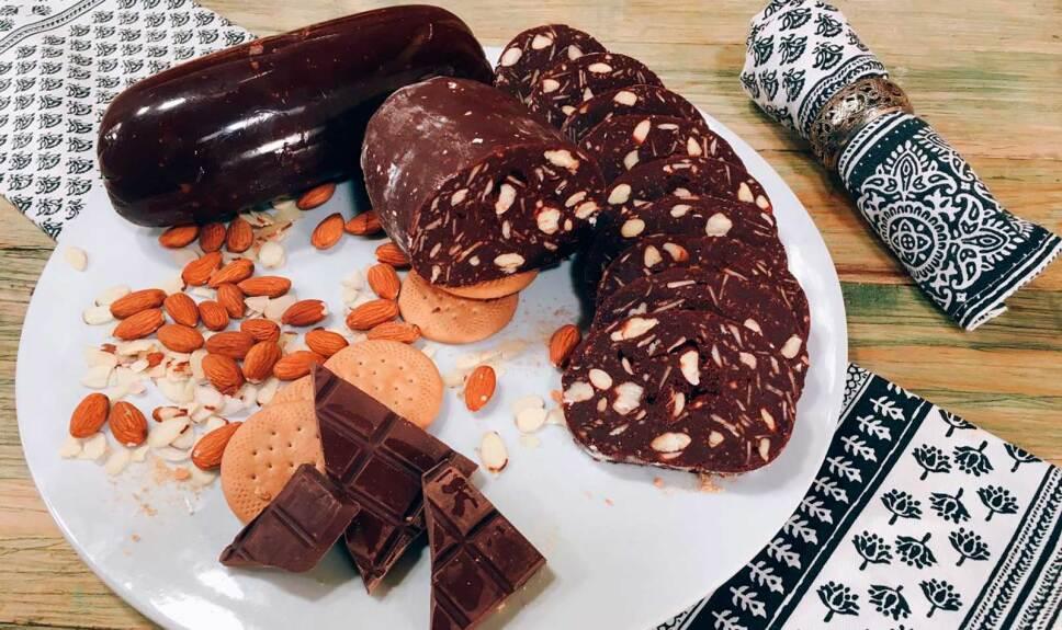 Receta Salami de chocolate