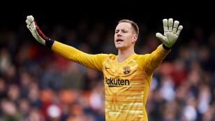 Portero Ter Stegen admite desconocer los nombres de sus rivales