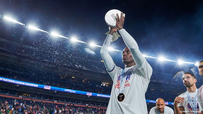 5 futbolistas estadunidenses sin Copa Oro 2021 timothy weah.jpg