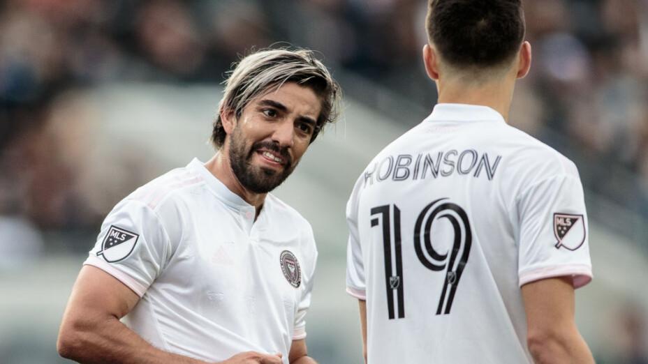 Pizarro es un histórico del Inter Miami