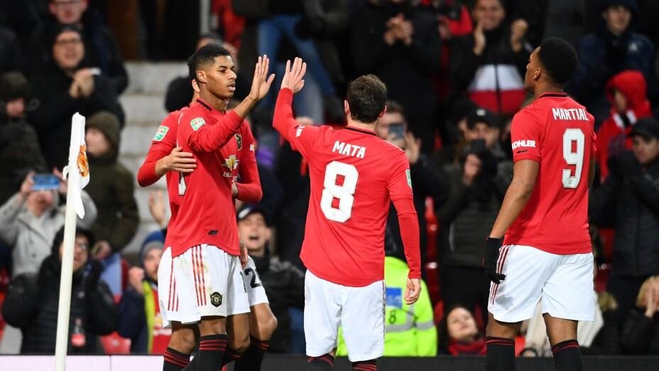 Manchester United v Colchester United - Carabao Cup: Quarter Final