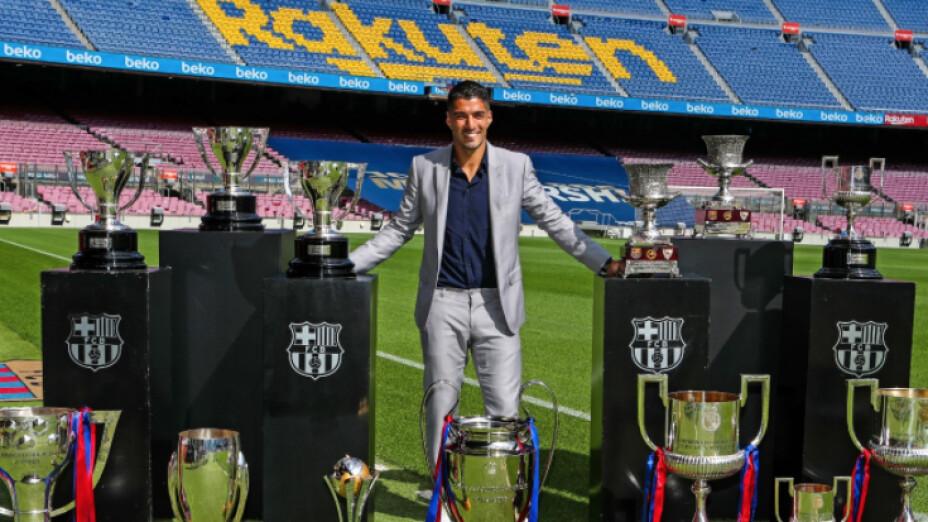 Luis Suárez despedida del Barcelona