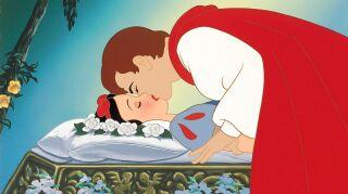 beso de la blancanieves