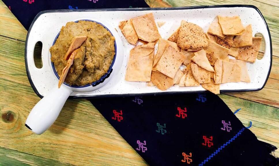 Receta Hummus de lentejas Cocineros Mexicanos