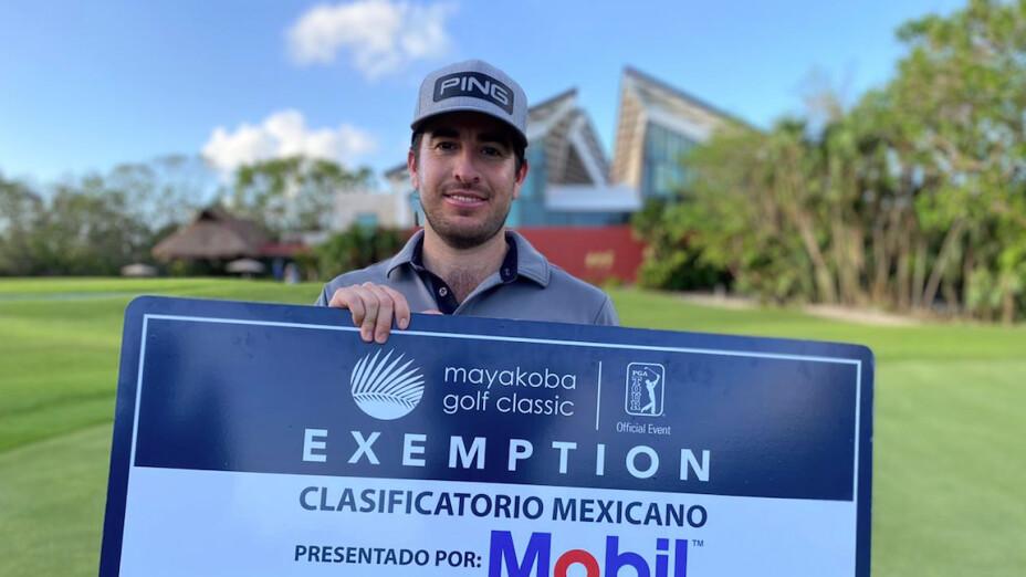 Tijuanense Armando Favela podrá jugar el Mayakoba Golf Classic