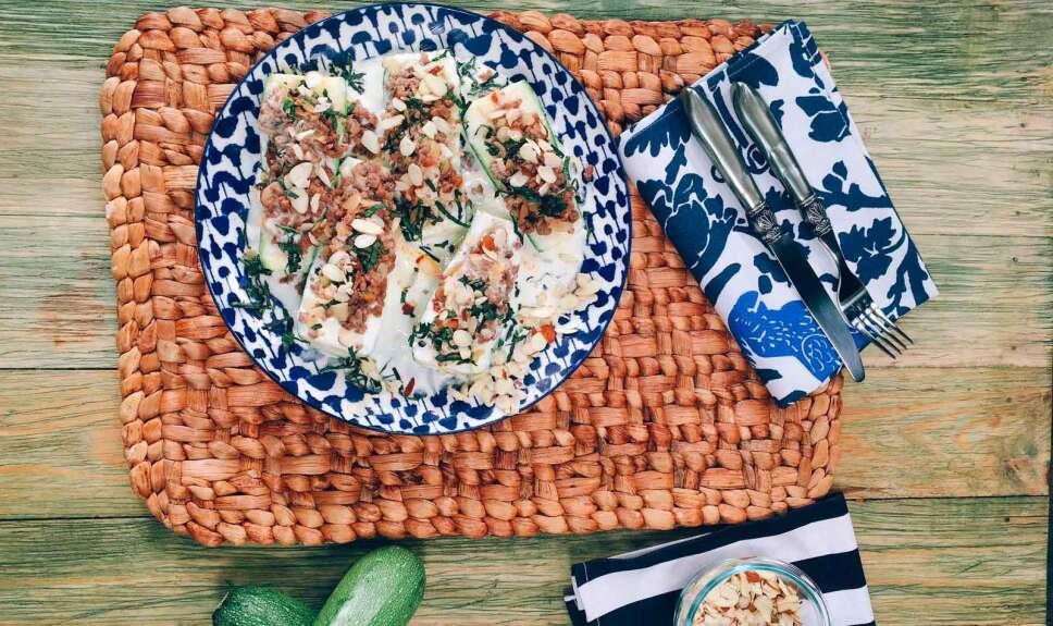 Receta Calabacitas rellenas Cocineros Mexicanos