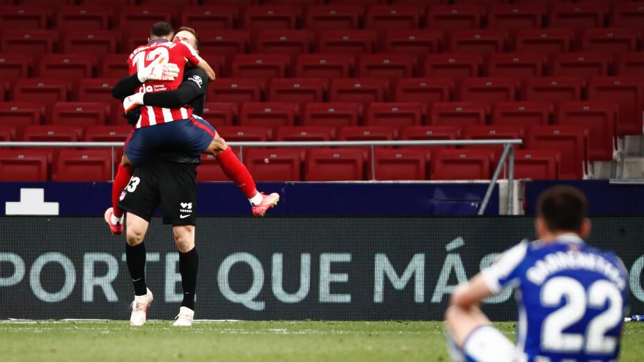 Atlético de Madrid vs Real Sociedad