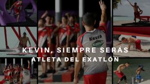 Kevin, siempre serás atleta de Exatlón.