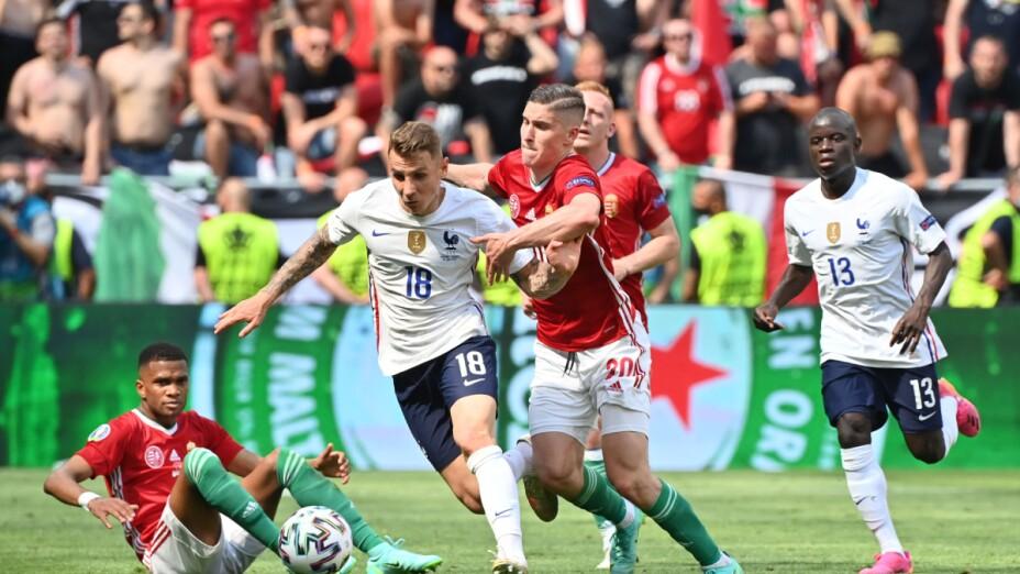 Hungría vs Francia