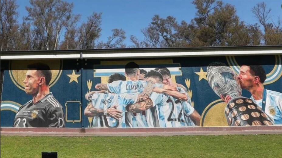 Mural Argentina