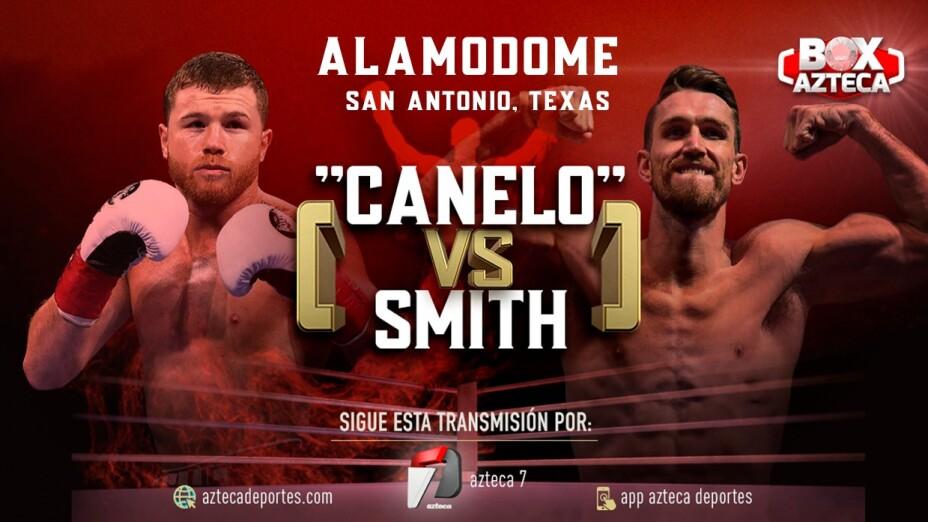 'Canelo' Álvarez vs Callum Smith será en el Alamodome con acceso al público