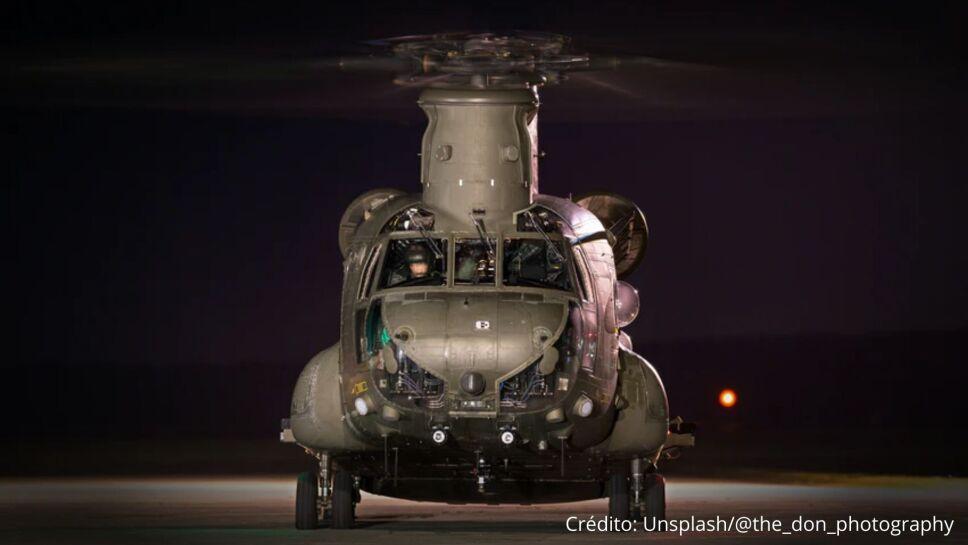 Helicóptero militar recibe disparo sobre Virginia; hirió a un miembro de la tripulación