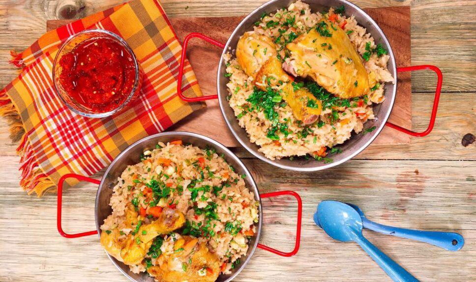 Receta Arroz con pollo Cocineros Mexicanos