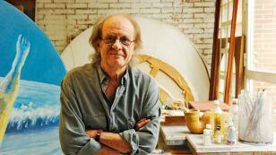 Luis Eduardo Aute Present 'El Giraluna' in Madrid