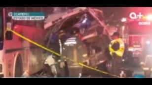 Trágico accidente en la autopista #México Pachuca.