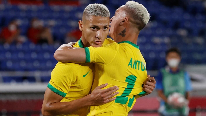 Brasil derrotó a Alemania en su debut olímpico