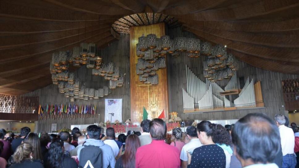 interior basilica de guadalupe