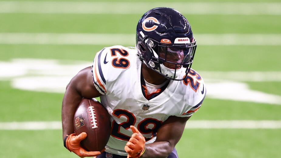 Tarik Cohen, Chicago Bears