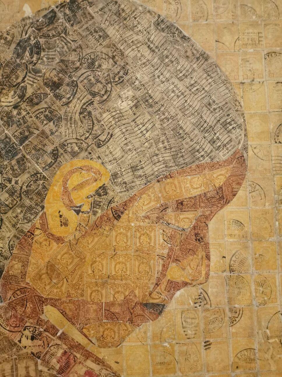 """Rostro mural """"La Tarasca"""""""