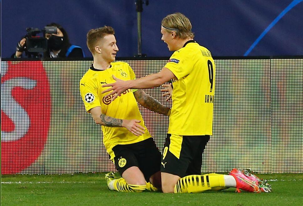 Doblete de Erling Haaland en triunfo del Dortmund sobre el Sevilla