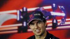 'Checo' Pérez en conferencia de prensa previa al Gran Premio de Turquía de la Fórmula 1.