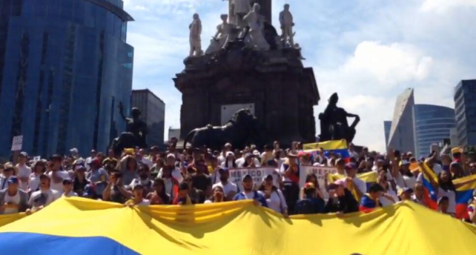 Marcha Venezuela CDMX