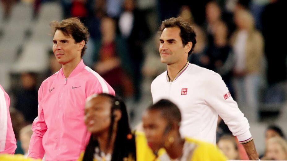 Roger Federer y Rafael Nadal, los tenistas más ganadores en la historia de los Grand Slams