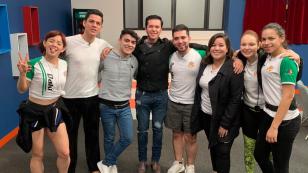 La Academia visita Raúl Sandoval 28 ene