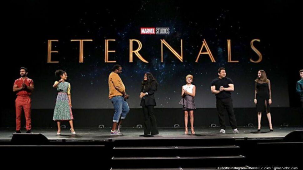 La película Eternals tuvo su primera filtración.