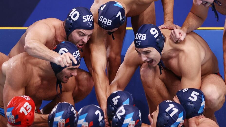 Serbia, medalla de oro en waterpolo varonil en Tokyo 2020