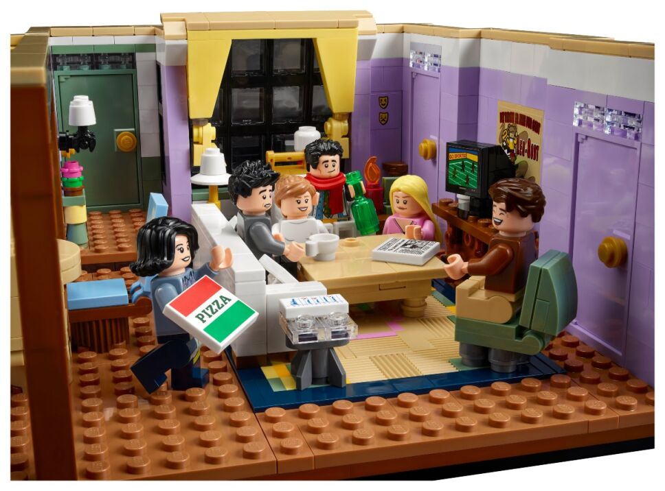 Departamento Friends Lego