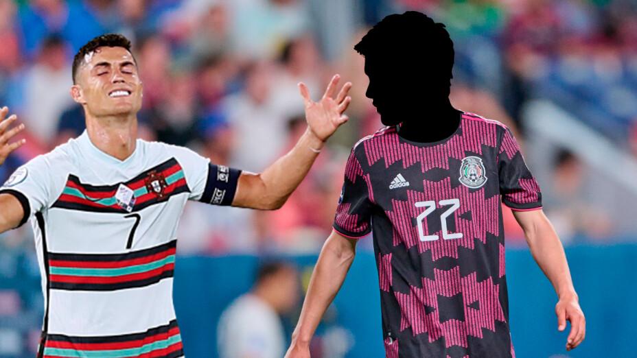 Cristiano Ronaldo Chucky Lozano.