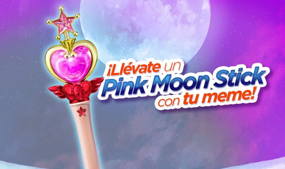 Pink moon stick dinamica