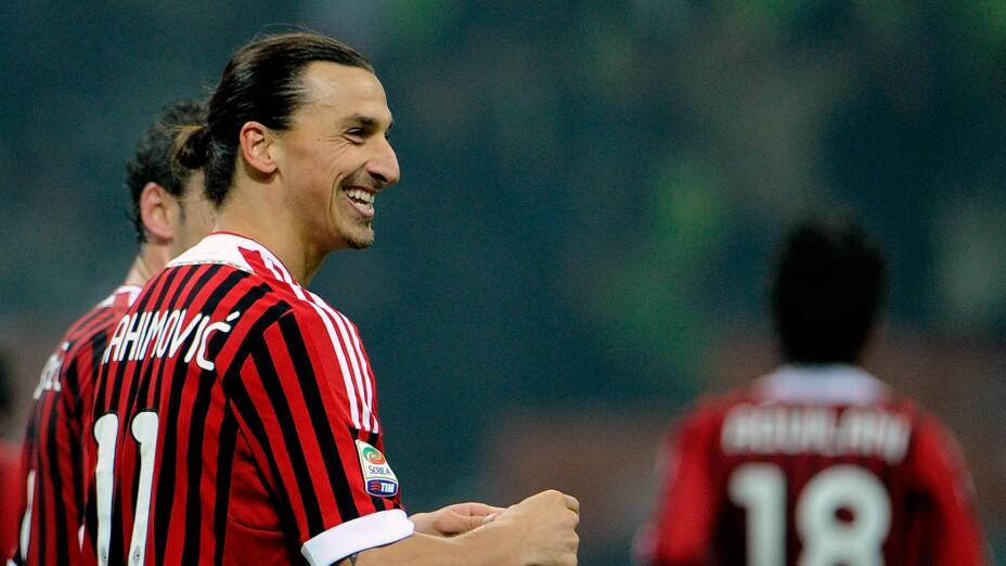Zlatan Ibrahimovic Milán