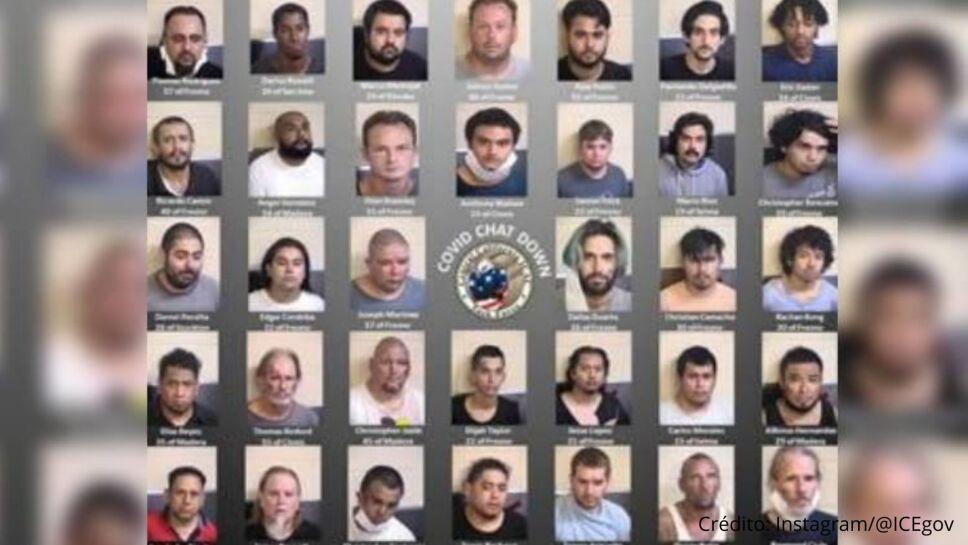 Agentes encubiertos logran capturar a 34 pedófilos en Fresno, California