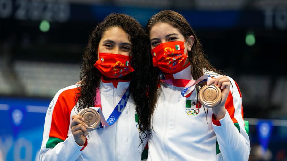 Medallistas mexicanos en clavados Juegos Olímpicos