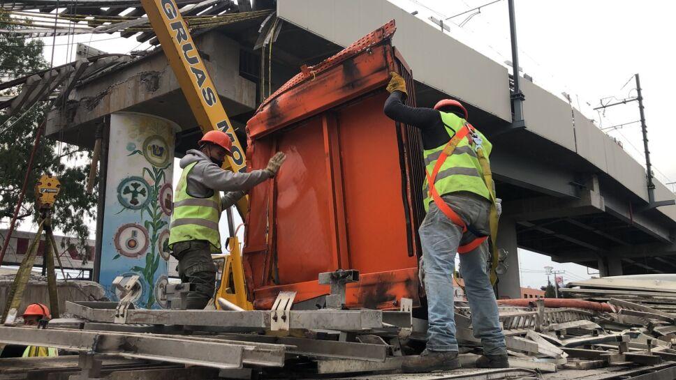 Remoción de escombros metro