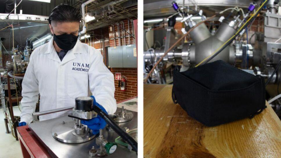 El cubrebocas SakCu se puede lavar hasta 10 veces sin perder sus propiedades biocidas.