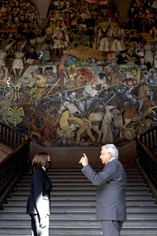 AMLO murales