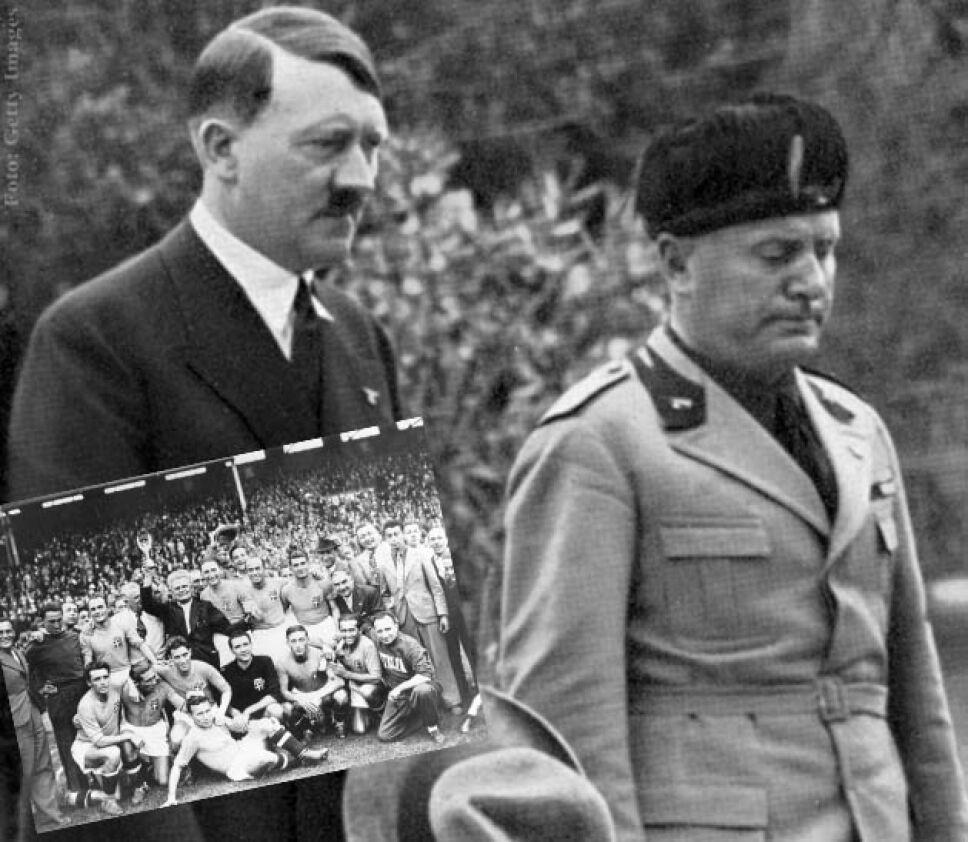 Benito Mussolini y Adolfo Hitler