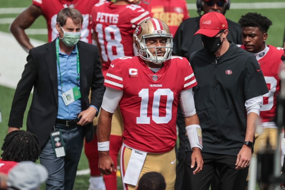 NFL: San Francisco 49ers at New York Jets