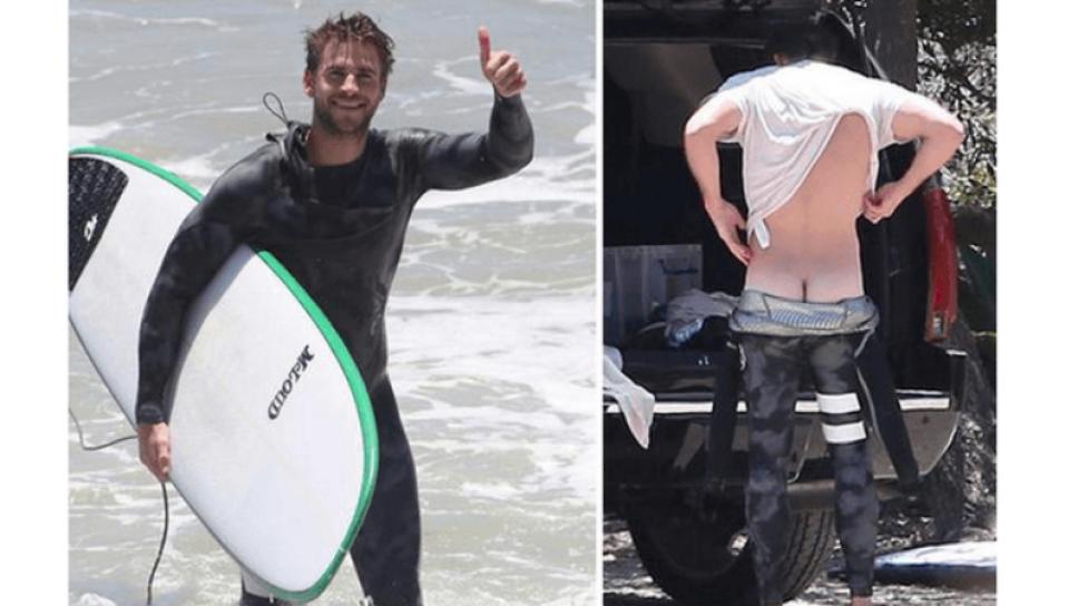 Descuido de Liam Hemsworth deja ver de más Foto Especial