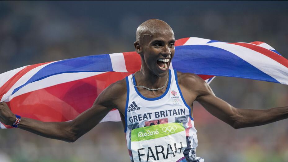 Medallas y trofeos ganados Mo Farah en atletismo